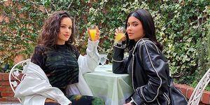 Rosalía y Kylie Jenner juntas