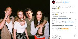 rosalia c tangana elite netflix instagram aron piper