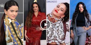 Rosalía transformación looks cambio estilo