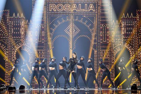Rosalía en los MTV Music Video Awards 2019