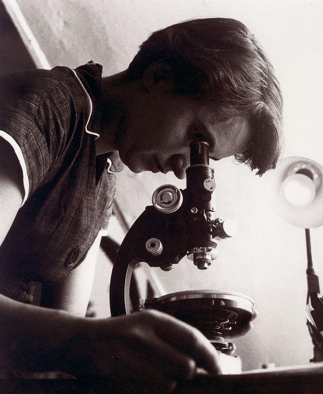 foto van dna wetenschapper rosalind franklin