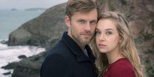 Anna Herrmann y Jens Atzorn en la pelicula de ZDF 'Rosamunde Pilcher: El lugar del corazon' (Wo dein herz wohnt )