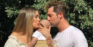 Rosanna Zanetti celebra su 31 cumpleaños junto a David Bisbal y su hijo Matteo