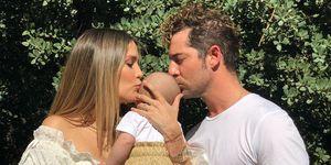 David Bisbal, Rosanna Zanetti y su hijo Matteo
