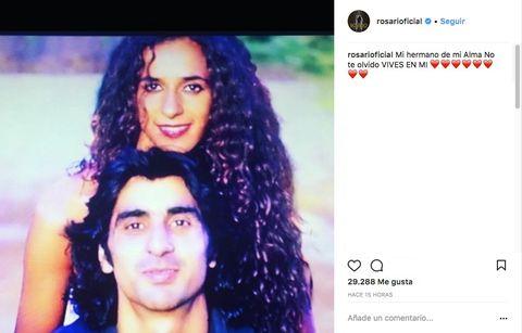 Rosario recuerda a su hermano en el 23 aniversari ode su muerte