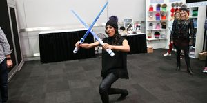 Backstage Creations Celebrity Retreat At New York Comic Con - Day 1