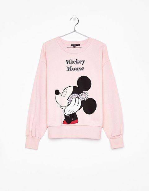 Clothing, White, Sleeve, Pink, Long-sleeved t-shirt, Outerwear, T-shirt, Cartoon, Top, Font,