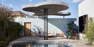 Neil Cownie diseña una casa con un techo escultórico