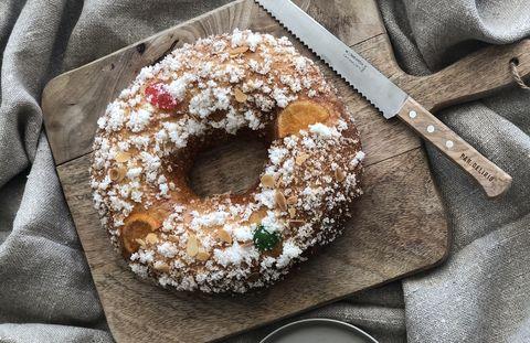 Roscón de Reyes de Pan.Delirio