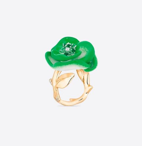 rose dior pop ring