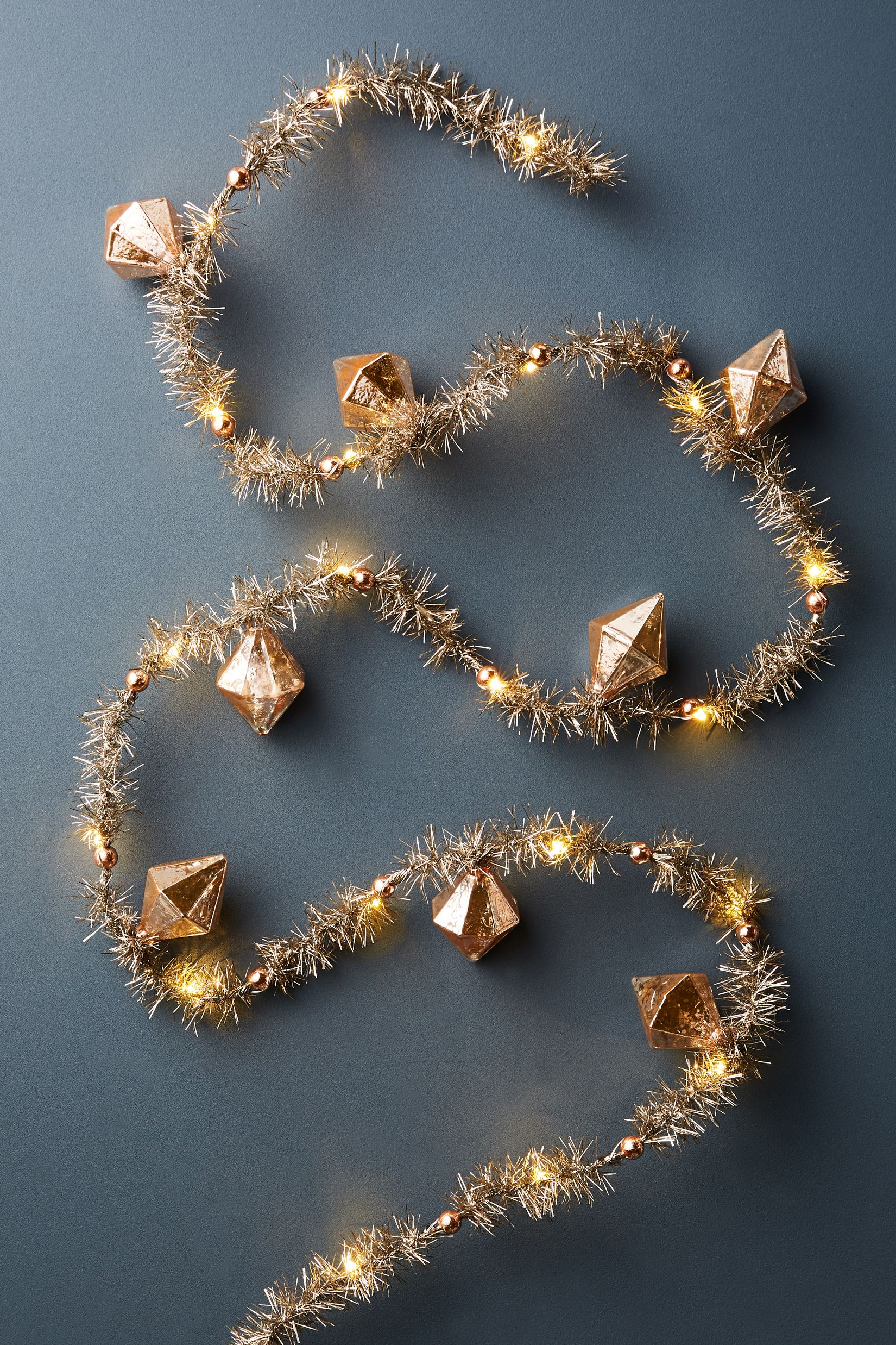 rose gold christmas decoration ideas holiday home decor - Gold Christmas