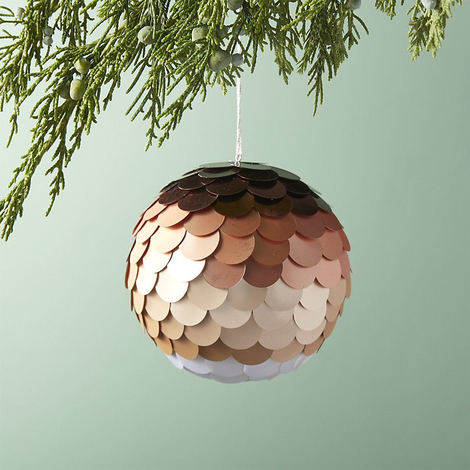 rose gold christmas decoration ideas