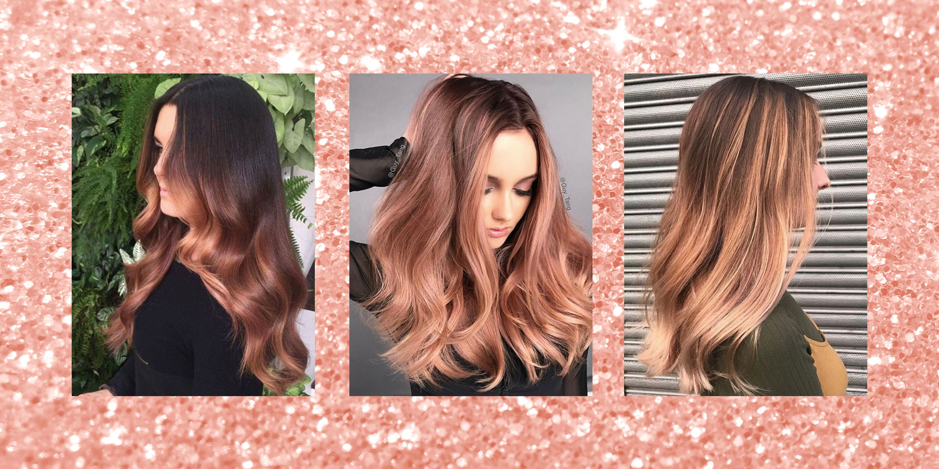 Rose Gold Hair - Hairstyles, Hair Colour Ideas and Inspiration