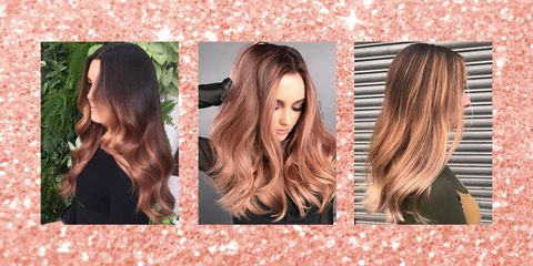 Rose Gold Hair - 17 of the best colours and dyes on the Internet