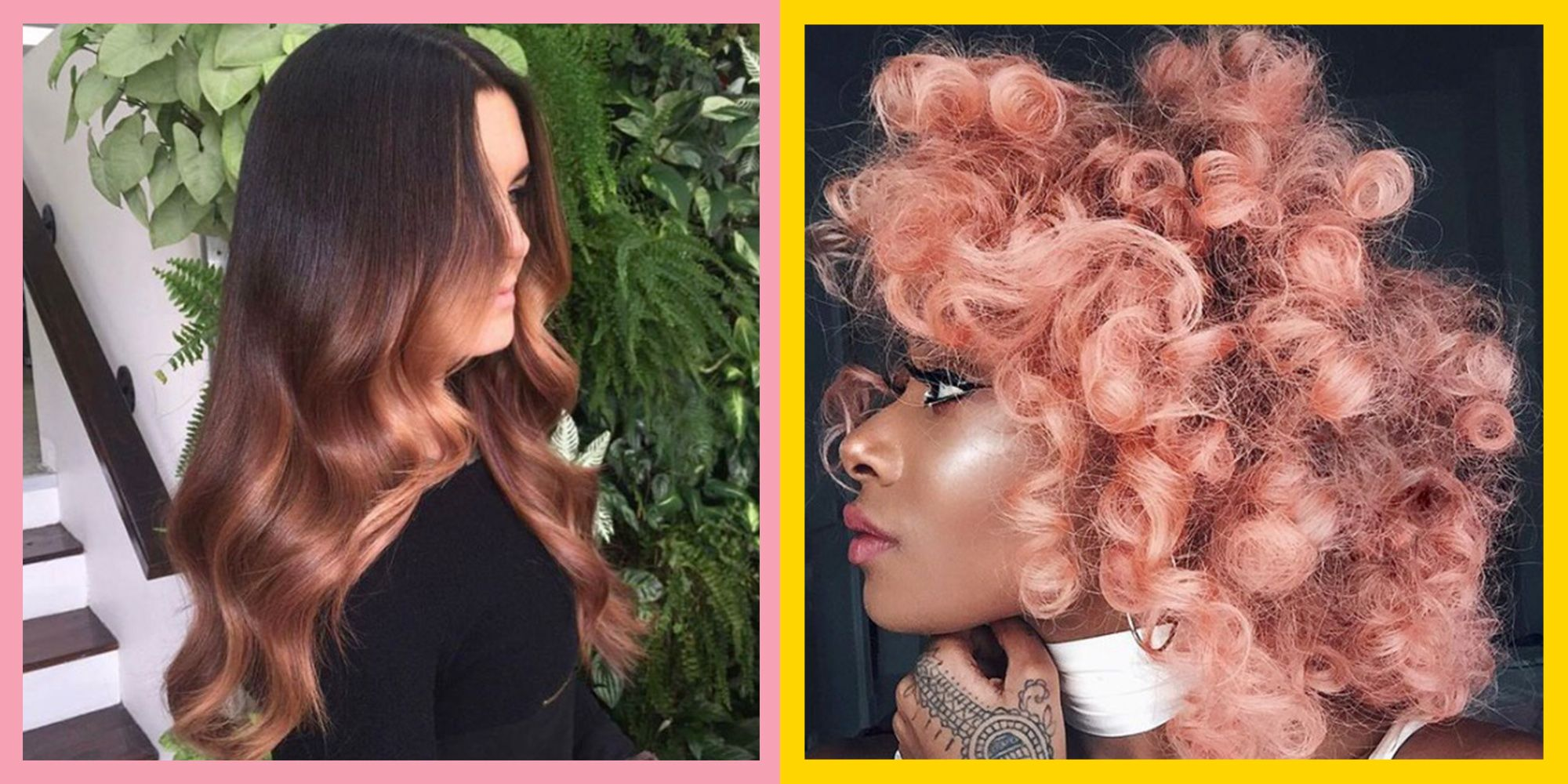 32 Rose Gold Hair Colour Ideas From Across The Internet