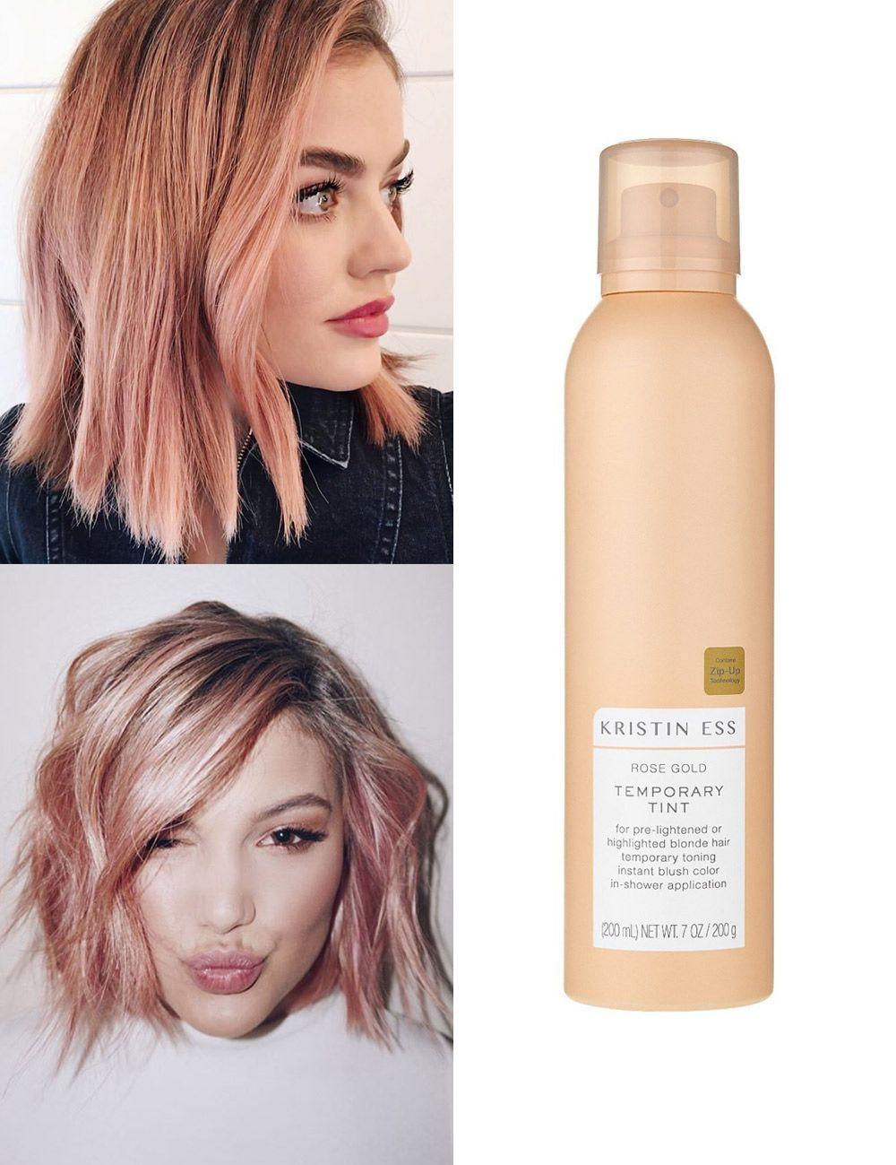 Diy Rose Gold Hair Color Www Picswe Com