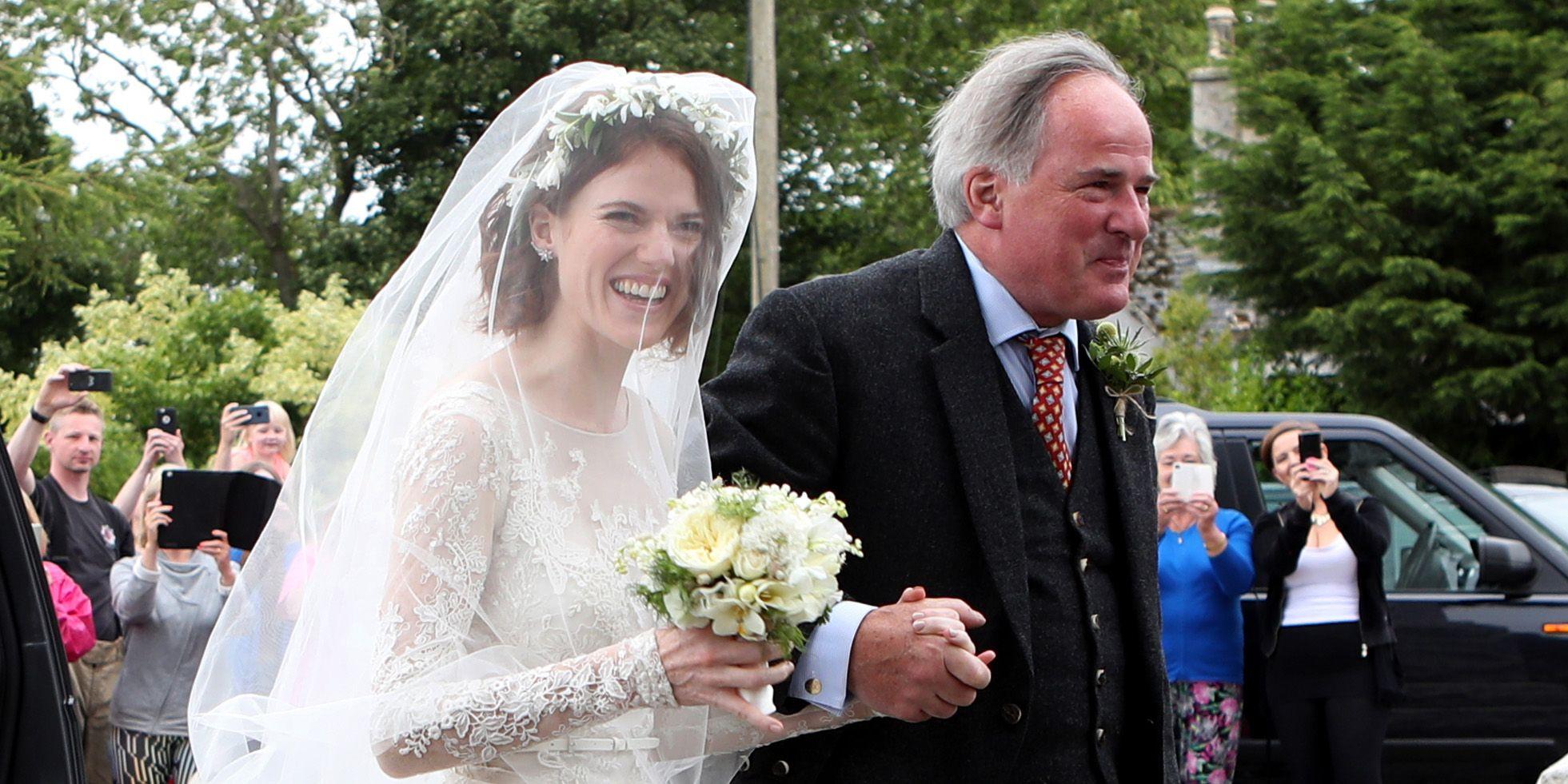 Rose leslie wedding dress details rose leslie wears lace wedding rose leslie wedding dress details rose leslie wears lace wedding dress kit harington junglespirit Gallery