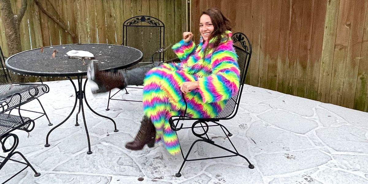 The Texas Storm and the Technicolor Coat