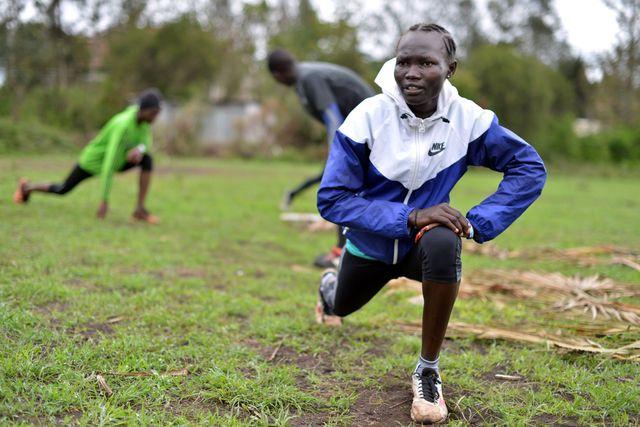 equipo de atletas refugiados para los juegos olímpicos de tokio
