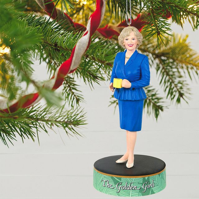 'the golden girls' rose nylund christmas tree ornament