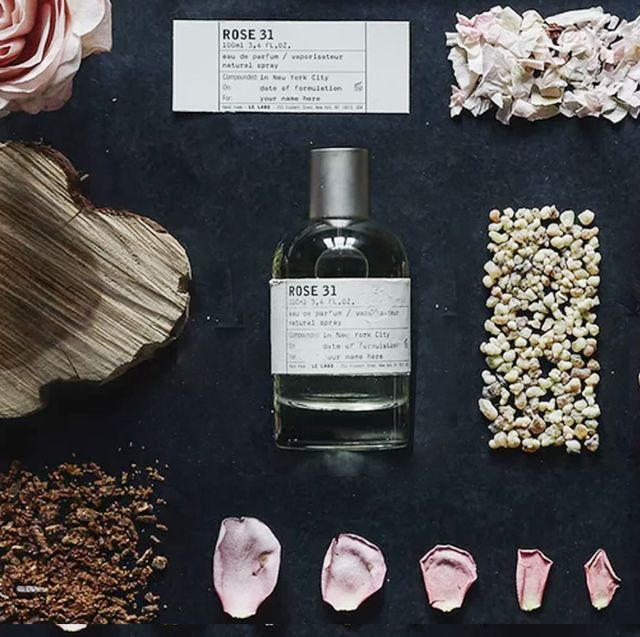 rose perfume with natural ingredients