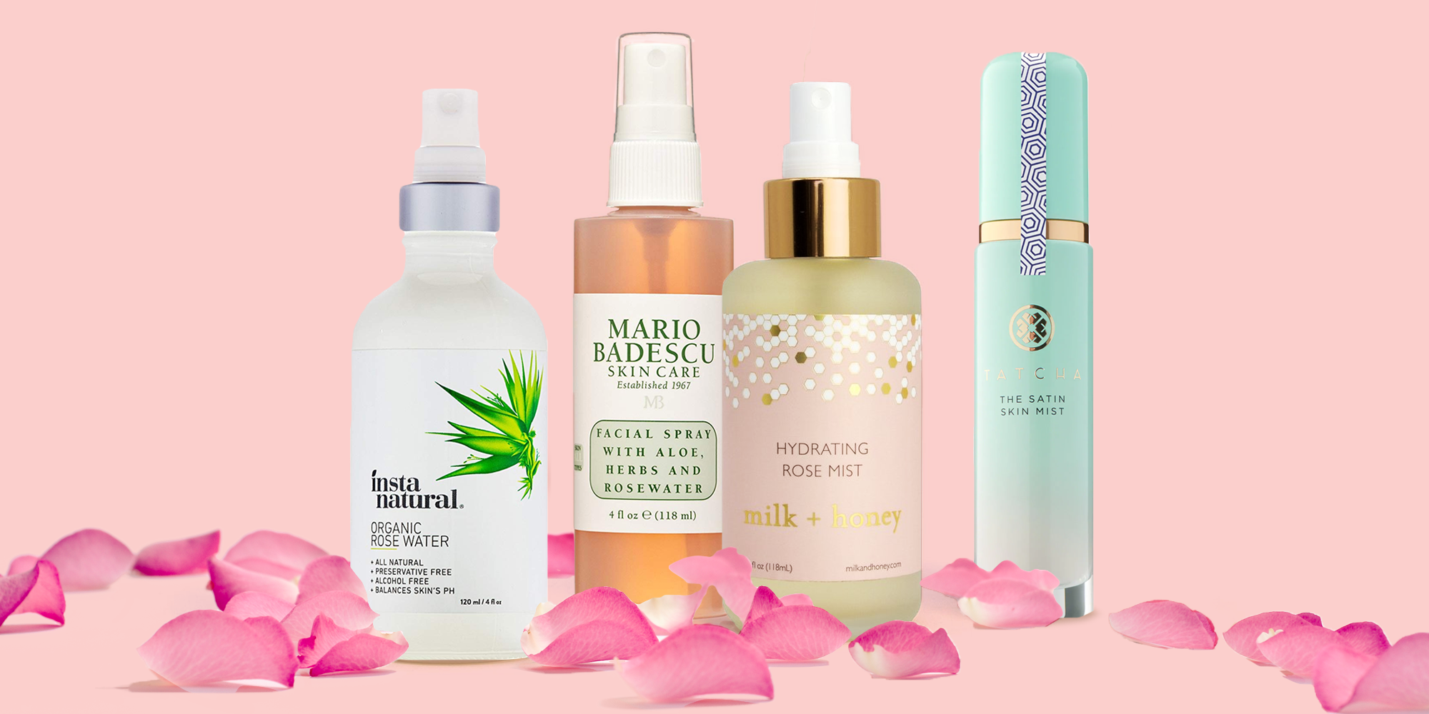 12 Best Rose Water Facial Sprays and Toners