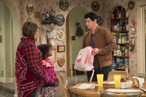 """Roseanne, Mary, and D.J. on """"Roseanne"""""""