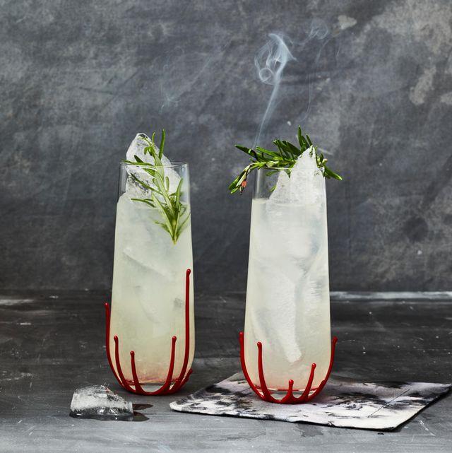 rosemary gin gimlet