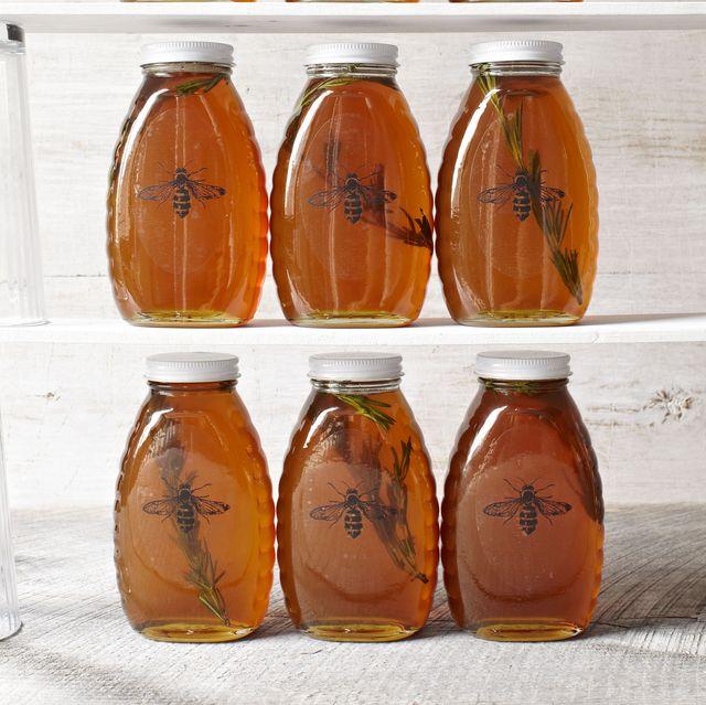rosemaryinfused honey