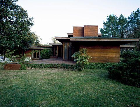 Rosenbaum House, one of the residences created by Frank Lloyd Wright, Florence, Alabama