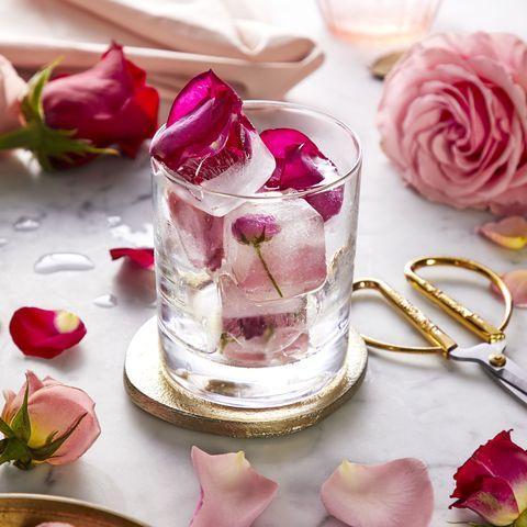 Petal, Pink, Food, Rose, Flower, Garden roses, Dessert, Plant, Cuisine, Rose water,