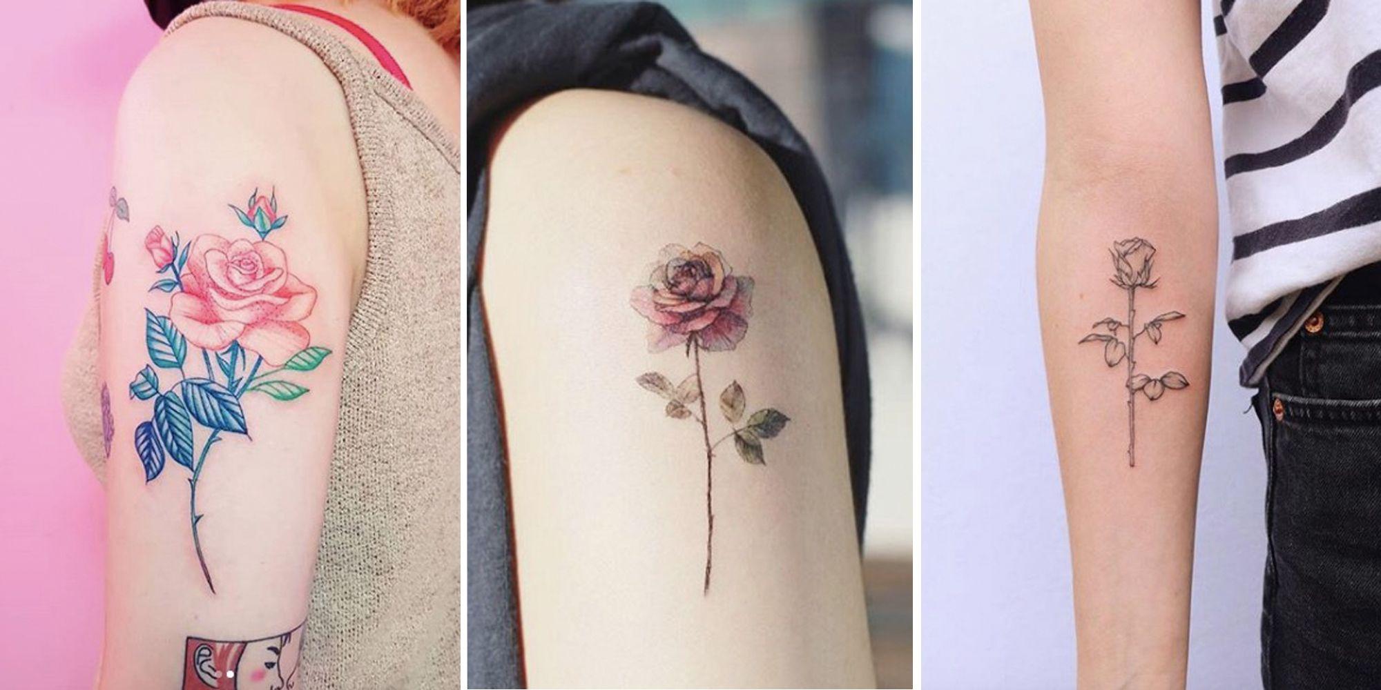 16 Delicate Flower Tattoos Flower Tattoo Ideas Inspiration