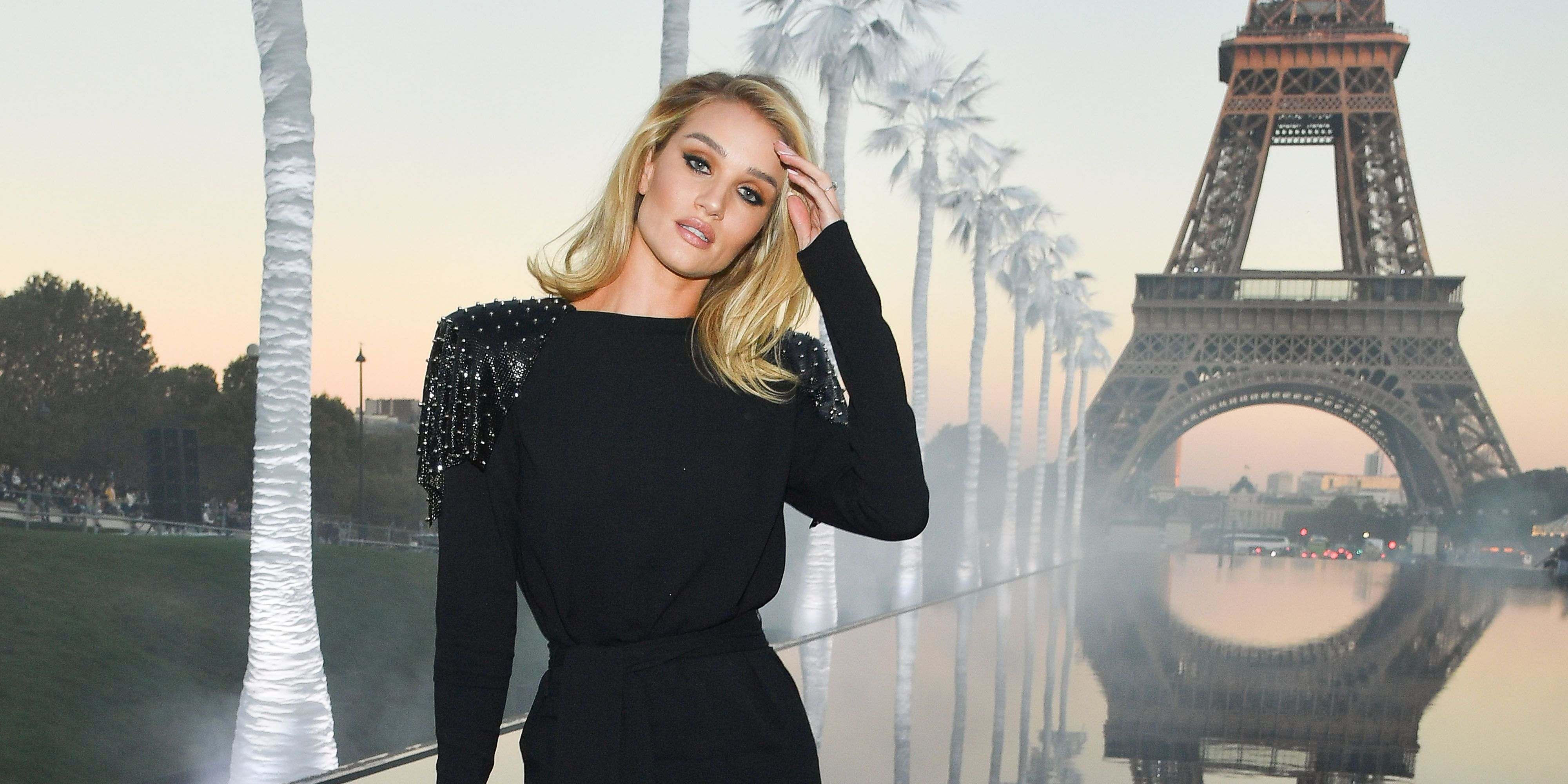 Rosie Huntington-Whiteley nails the coolest take on the French manicure revival