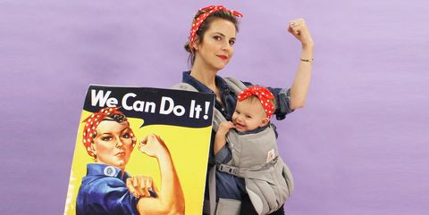 Rosie the Riveter - Baby's First Halloween Costume