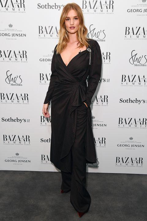 Rosie Huntington-Whiteley at the Bazaar Summit