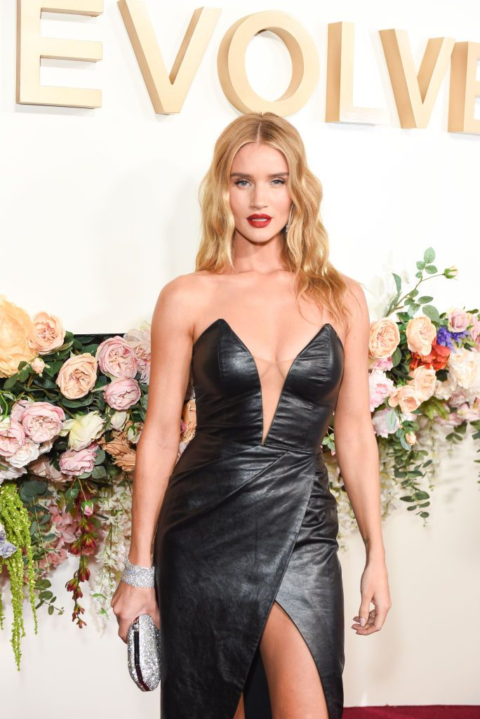 Rosie Huntington-Whiteley just wore her most daring look yet
