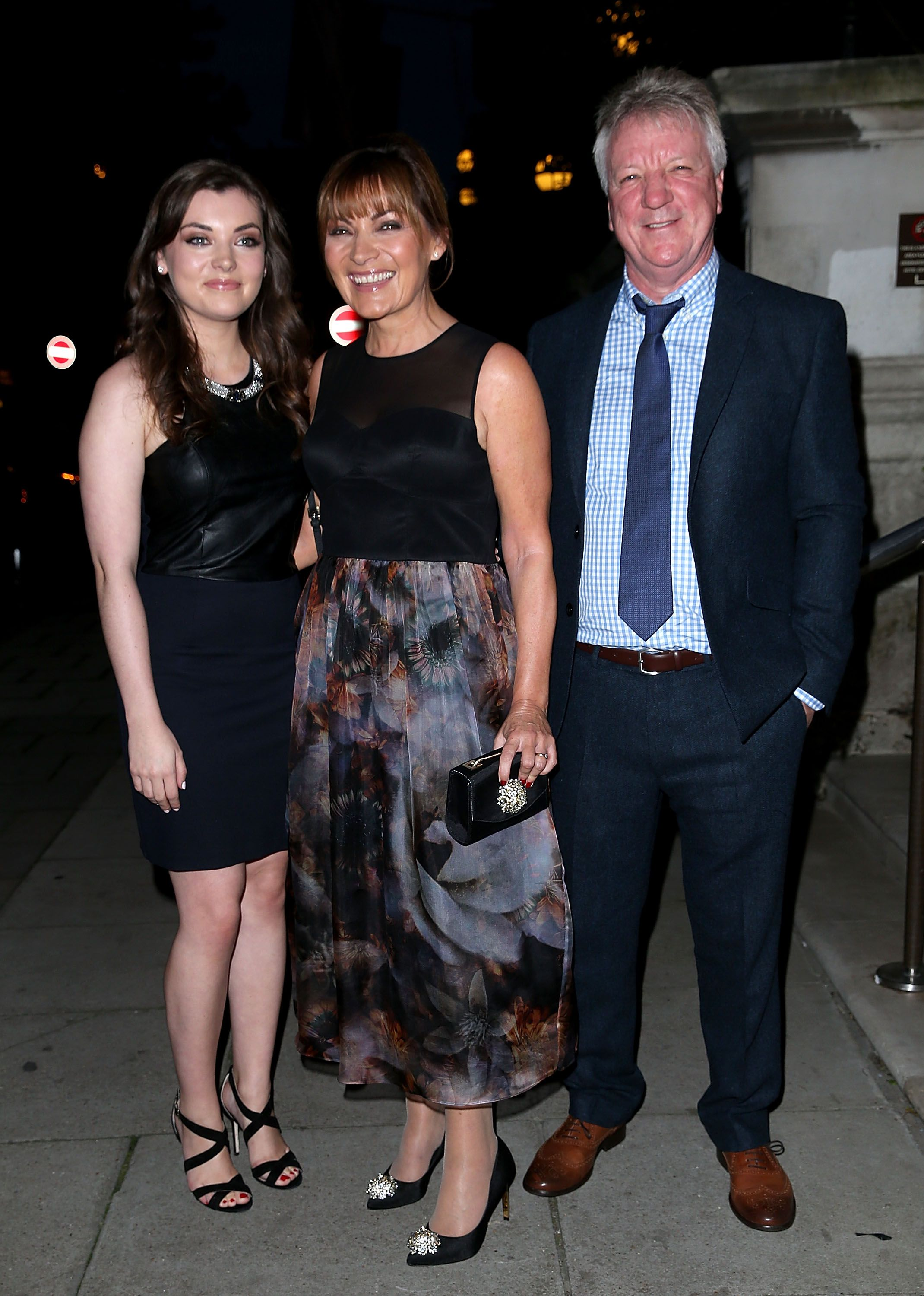 Lorraine Kelly celebrates her 27th wedding anniversary with husband Steve Smith