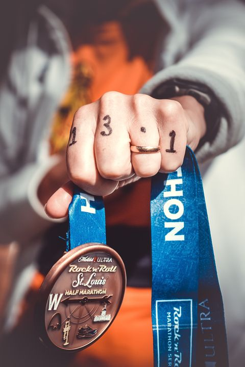 race medal, health trends