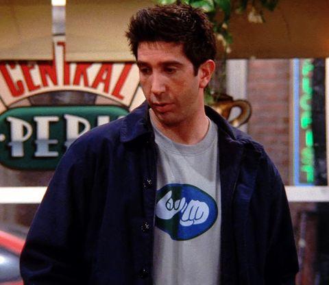 Ross Gellar, Friends t-shirt