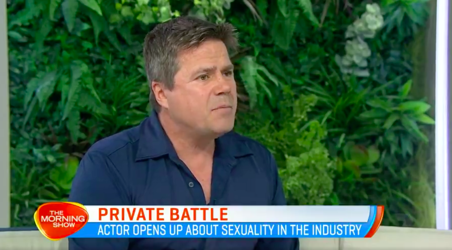 Former Home and Away star Ross Newton reveals he was told to keep quiet about his sexuality