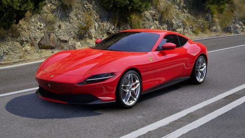 2020 Ferrari Roma in Rosso Corsa