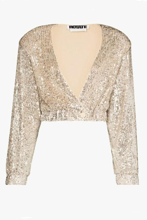rotate sparkly cardigan   best christmas jumpers