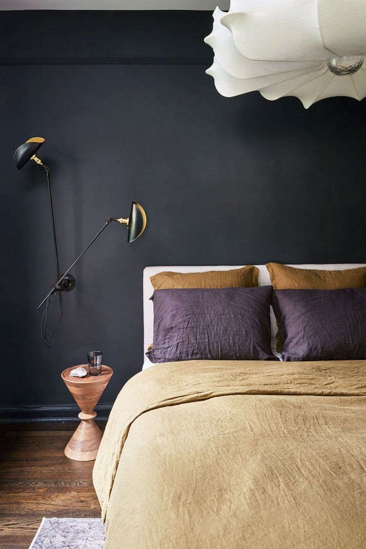 10 Stylish Black Bedroom Ideas - How to Decorate a Black Bedroom