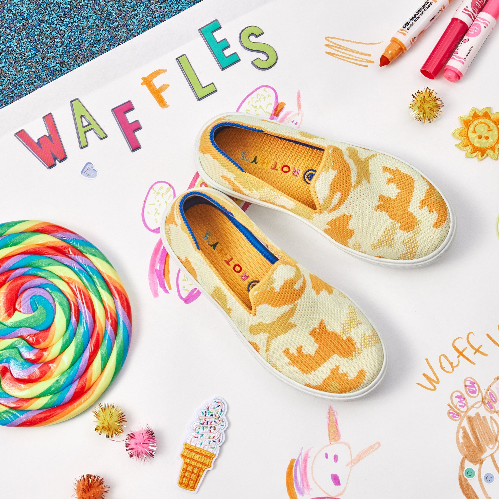 Rothy's Launched New Kids' Sneakers and Adults Everywhere Are Jealous