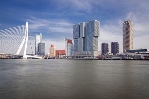 rotterdam and the maas river