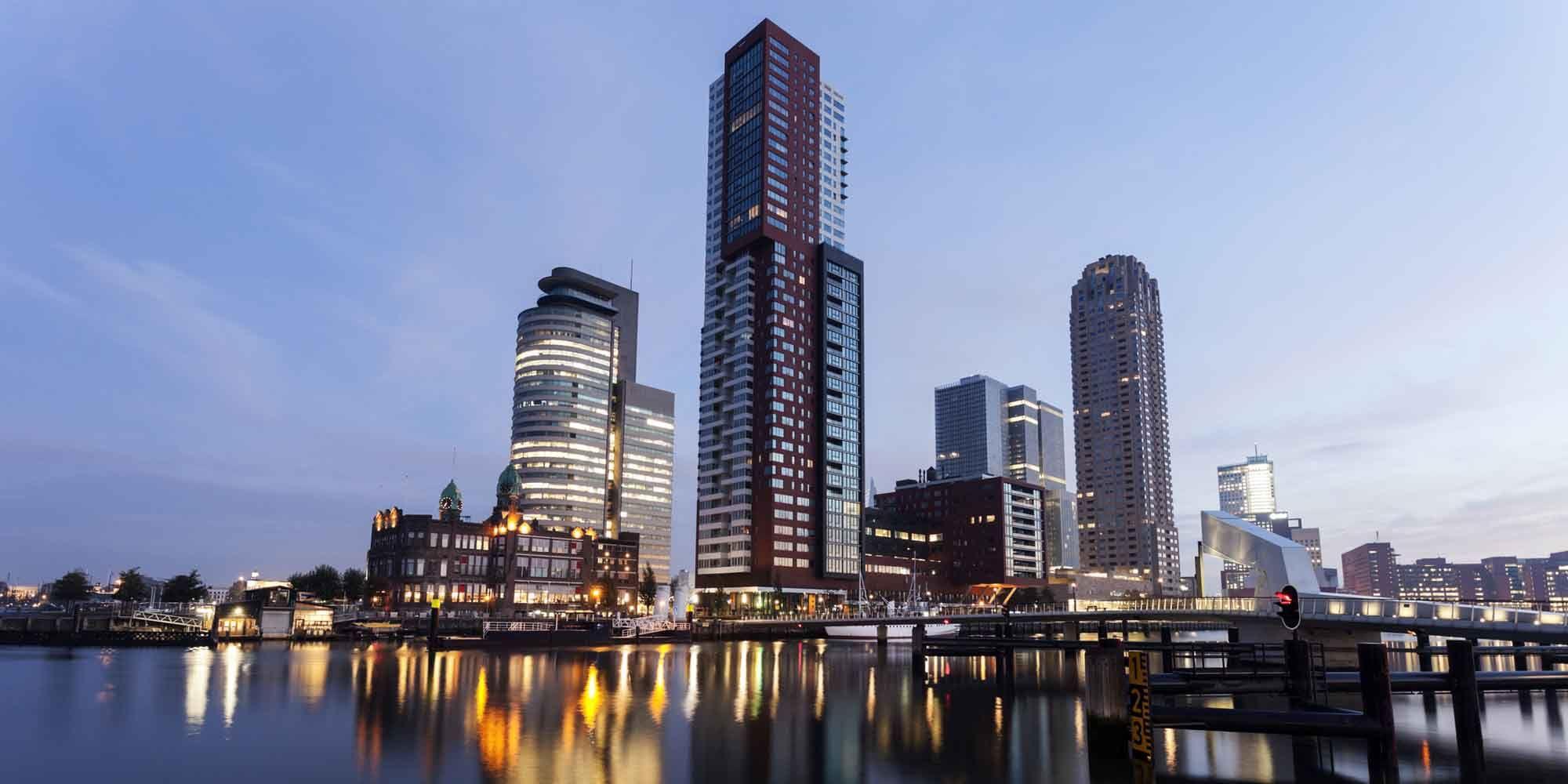 De woontoren OurDomain Rotterdam Blaak komt eraan: nog even wachten!
