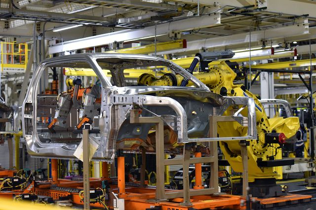 ford f 150 production at rouge plant