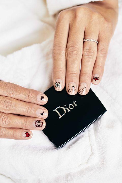 Nail, Finger, Manicure, Hand, Nail care, Cosmetics, Ring, Nail polish, Fashion accessory, Jewellery,