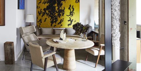tour a refined home that evokes an art gallery