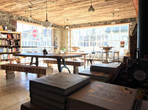 hudson valley rough draft bar and books